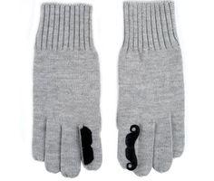 mustache mittens. i MUSTache these!
