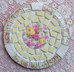 vintag mosaic, shabby chic mosaic, style, pretti mosaic, vintage mosaic