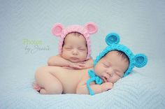 Crochet Pattern for Ribbed Baby Bear Bonnet Hat - 6 sizes, preemie/doll to child - Welcome to sell finished items