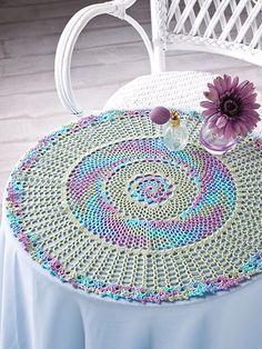 Crochet - Reflections Doily - #EC01078