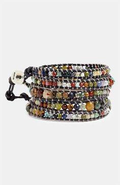 Chan Luu Semiprecious Stone Wrap Bracelet | Nordstrom