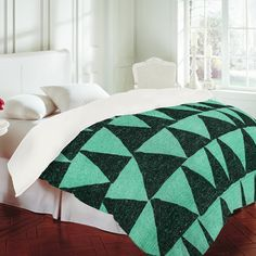 Nick Nelson Analogous Shapes Duvet Cover