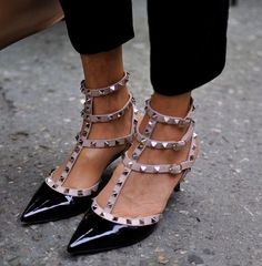 valentino stud shoes