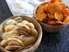 Microwave Potato Chips- Pampered Chef
