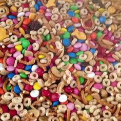 Easy snack mix for the kids