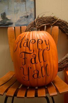 painted pumpkins, paint pumpkin, the holiday
