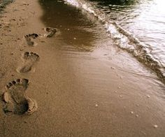 Footprints in the sand :)