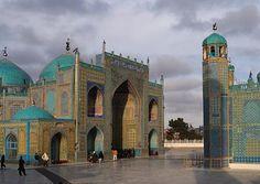 Afghanistan: The Blue Mosque of Mazari Sharif