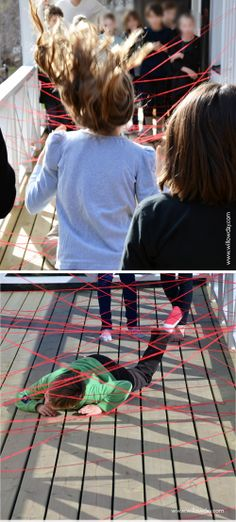 How to make a yarn labyrinth// willowday (from our secret-agent party)