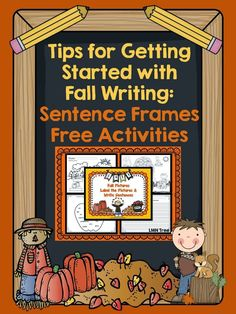 LMN Tree: Tips for Getting Students Started with Fall Writing by Using Sentence Frames: Free Activities Included