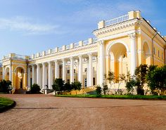Alexander Palace, the childhood home of the last Russian tsar, Nicholas II
