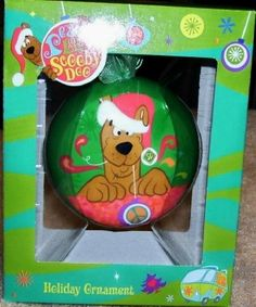 Peace, Love and Scooby Doo Christmas Ornament New In Box $14.99