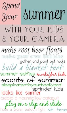 Spend the Summer with Your Kids and Your Camera — 5 Minutes for Mom