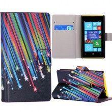 Funda Lumia 520 - Flip Libro Meteoritos  $ 75,81
