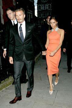 Wow, very fashionable couple.