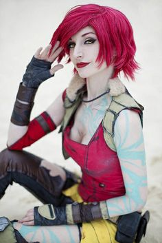 Lilith, Borderlands 2, photo by Anna Fischer.
