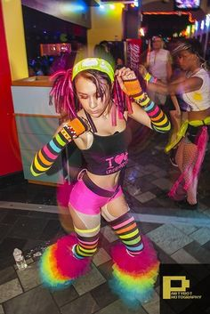 Neon Rave Clothes For Women Omg i love this outfit