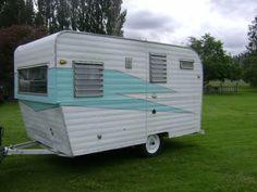 ham, vintage trailers, ami vintagetrail, paint, vintage travel trailers