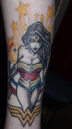 Wonder Woman Tattoo. Love it