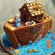 Noah's Ark Gingerbread