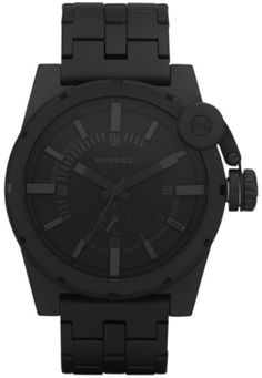 diesel gray watch, slim and minimal at the same time