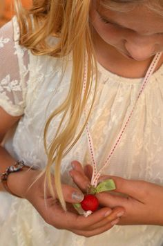 Make Apple Necklaces | full photo tutorial | willowday