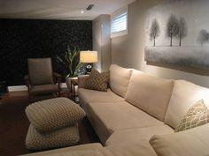 basement window treatments on pinterest basements basement bedrooms