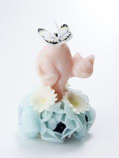 DOUBLE MAISON / cat candle cat candl, cat item