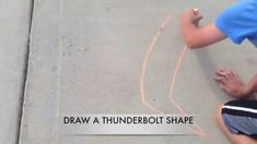 Drawing Lesson: SIMPLE SIDEWALK CHALK ILLUSIONS - by Mr. Otter Art Studio.