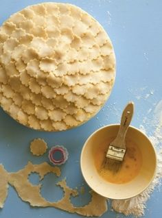 Pretty pie crust.