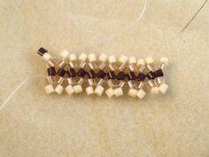 Flat Ndebele or Herringbone StitchTutorial