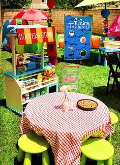 Funky & FUN Sesame Street Birthday Party