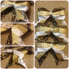 DIY cheer bows/best friend bows  I don't care for the initial on these but like the rest.