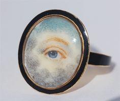 miniatures, lover eye, jewelleri, eye ring, eye miniatur