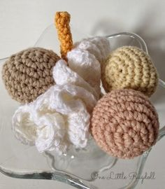 Whipped creame pattern