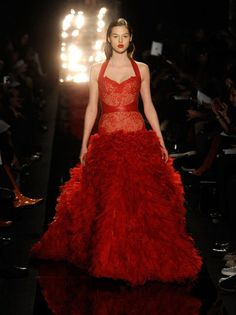 Amazing gown from Monique Lhuillier Fall 2012
