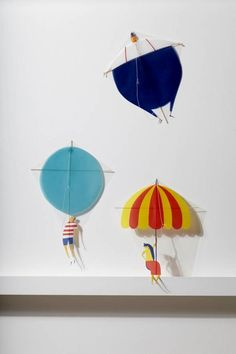 Fun kites by Daniel Frost / on Mr P blog