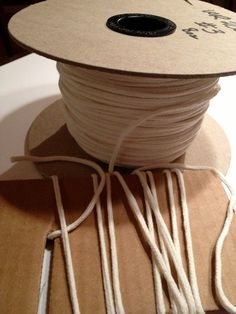 Square Braid Wicking  Candle Making Supply