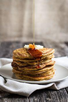 Gluten-free pumpkin spice pancakes