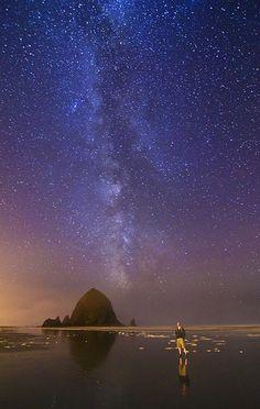 Milky Way - Cannon Beach, Oregon