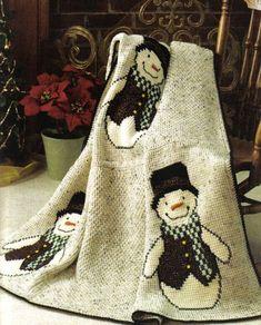 Free Christmas Crochet Afghan Patterns | Crochet Patterns