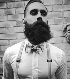 Barbe de hispter classe