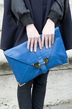 Big Blue Clutch