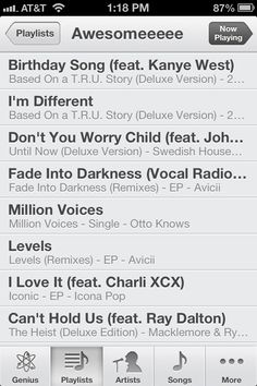 Quick High Energy Playlist