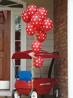 Wagon 1st birthday
