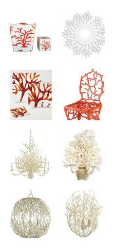 Great coral items at