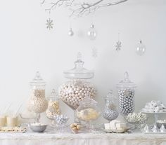 White Christmas   http://www.realsimple.com/holidays-entertaining/weddings/cakes-catering/dessert-table-00100000074296/page2.html#7