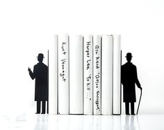 Bookends  Inspired by Rene Magritte's The by DesignAtelierArticle, $54.99