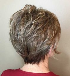 Short Hairstyles For Thick Hair Over 50