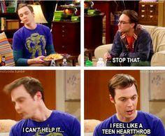 Sheldon=teen heartthrob?